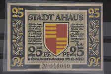 KR Stadt Ahaus 25 Pfennig 1921 Notgeld Thüringen Papiergeld