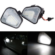 2x Error Free LED Side Mirror Puddle Lights For Vw Volkswagen EOS Passat B7 CC