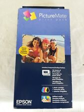 Picture Mate Print Pack Epson 100 sheet 4x6 inches New Sealed exp.04/2015 box4