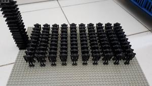 100 Pcs Minifigures Star Wars TROOPER SUPER Battle Droid Black Custom Lego MOC