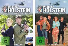"""6 DVDs * KRIPO HOLSTEIN - MORD UND MEER - STAFFEL 1 + 2 IM SET # NEU OVP """""""