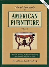 American Victorian Furniture - Cherry Rosewood Walnut Mahogany / Book + Values