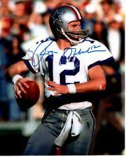 ROGER STAUBACH Signed NFL DALLAS COWBOYS Photo w/ Hologram COA