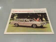 1965 Oldsmobile Vista Cruiser F85 Station Wagons Sales Brochure MINT