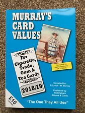 Murray's Cigarette Card Values 2018/19 Tea Trade Gum, Catalogue Price Guide