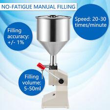 More details for ridgeyard manual paste liquid filling machine for cream shampoo cosmetic 5-50ml