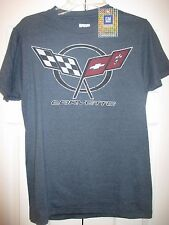 Corvette Tee~Vintage Look~GM Official Licensed Product~SS/Crew Neck~Small~NWT