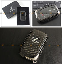 LUXURY CARBON FIBER SNAP ON CASE FOR LEXUS KEYLESS ENTRY SMART FOB-OLD MODEL