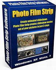Photo Film Strip - Slideshow Movie Creation Software