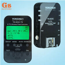 Yongnuo YN-622C + YN-622C-TX Kit Wireless Flash Trigger Transceiver Controller