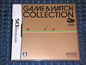RARE NEW DS Game & Watch G&W Collection Club Nintendo Exclusive Limited JAPAN FS