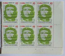 Che Guevara Blocco 6 francobolli Mint stamps Havana 1997 Block six stamps uncut