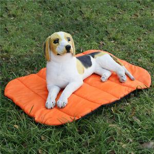 Outdoor Folding Pet Mat Dog Tavel Waterproof Warm Reversible Blanket Picked Size