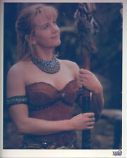 "Xena 8X10 litho lithograph photo Season 1 - ""Hooves and Harlots"" Gabrielle staff"