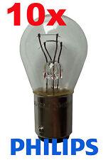 10x Philips P21/5 Lampe 21 Watt 5 Watt 12 Volt Birne Licht 12V Bremse Standlicht