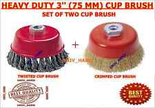HEAVY DUTY 3'' (75 MM) CUP BRUSH SET OF 2 PCS