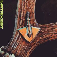 Alien Archery Australia maTRIX 2BT 125G all Stainless Steel Broadhead 7 pak.