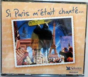 Si Paris m'etait change'..., Reader's Digest Selection Musique - 3-CD Set