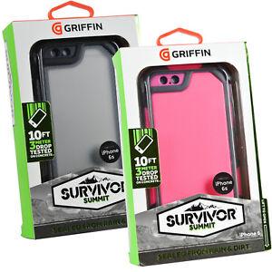 Genuine Griffin Survivor Summit Tough Rugged Case Cover Hostler For iPhone 6 6S