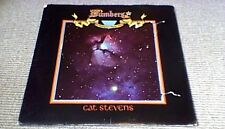 CAT STEVENS NUMBERS 1st ISLAND US DIE-CUT LP 1975 w/ STOTY BOOK INSERT A1/B1