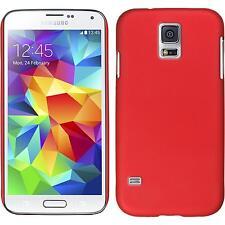 Custodia Rigida Samsung Galaxy S5 - gommata rosso Case