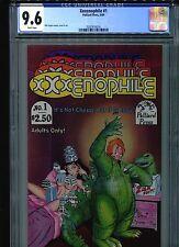 Xxxenophile #1 CGC 9.6 (1989) Palliard Press Phil Foglio Single Highest Grade