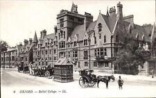 Oxford. Balliol College # 6 by LL/Levy. Black & White.