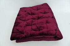 John Lewis Velvet Stitch Cushion Mulberry 65cm x 65cm