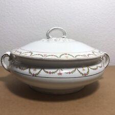 Antique Wilkinson Ltd. Royal Staffordshire Embossed Covered Serving Bowl c1910?