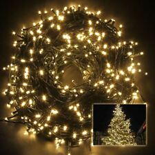 100 Warm White LED String Fairy Lights Party Decoration Outdoor Time 8 modes
