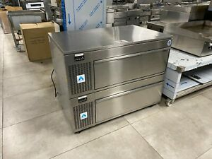 ADANDE STACKED FRIDGE WITH 2 DRAWERS