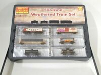 Brand New Micro Trains Z Scale Weathered Soo Line Set #994 05 130 #TOTES1