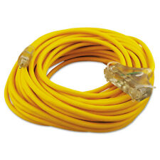 Coleman Cable Polar/solar Outdoor Extension Cord, 100ft, Three-Outlets New
