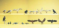 HO 1:87 scale Preiser 10169 ASSORTED BIRDS : Figures