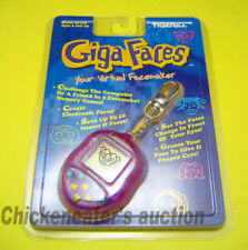 GIGA FACES VIRTUAL PETS PET TAMAGOTCHI FACEMAKER *NEW* KEYCHAIN POCKET GAME