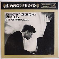 TCHAIKOVSKY: Concerto No 1 Van Cliburn RCA LIVING STEREO LSC-2252 Vinyl LP SD