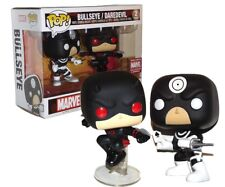 Brand new Exclusive BULLSEYE/DAREDEVIL funko POP marvel collector corps 2pack