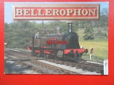 POSTCARD HAYDOCK FOUNDRY LOCO BELLEROPHON AT OXENHOPE