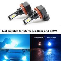 SiriusLED 2x H8 H11 LED for Fog Lights Daytime Driving Lights BLUE Bulb 1200LM