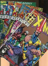 Uncanny X-Men 280,281,282,283,284,285,286 * 7 Book Lot * 1st cameo & full Bishop