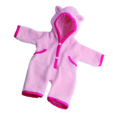 Pajamas Clothes for 18inch AG American Doll Dolls Nightdress Gown Pink