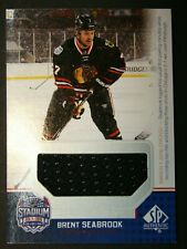 2014 15 UD SP Authentic Stadium Series Jersey -Brent Seabrook -Chicago