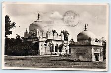 Postcard 1951 Bombay India B&W Temple Photo View C1