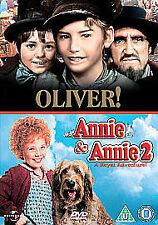 Annie/Annie 2 - A Royal Adventure/Oliver (DVD, 2008, 3-Disc Set, Box Set)