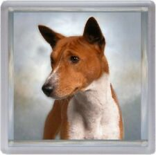 Basenji Dog Coaster No 2 by Starprint - Auto Combined Postage