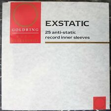 25 x Goldring Ex-static Record Sleeves