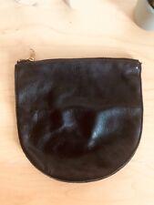 Medium Baggu Black Leather Large U Pouch Bag £50
