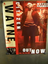 WAYNE KRAMER is a CITIZEN 2-sided PROMO POSTER in mint condition