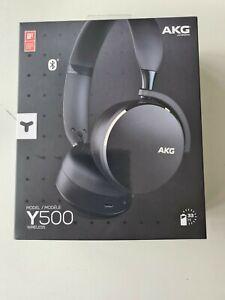 Samsung AKG Y500 On the Ear Wireless Headphones - Black