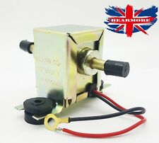 12 Volt Electronic Fuel Pump Solid State Facet Style 12V GOOD QUALITY (UK MADE )